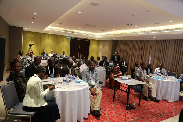 Malawian Seed Industry Delegates at 'Seed Industry Program', Hyderabad, India.