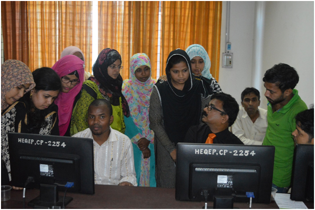 Hands on sessions on TEEAL at HMDSTU, Dinajpur