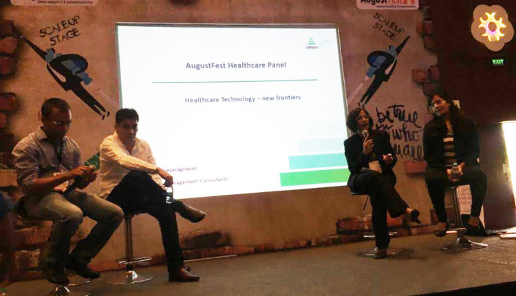 Pushpa Vijayaraghavan steers conversation on healthcare technology at Augustfest 2016, one of the largest startup festivals in India