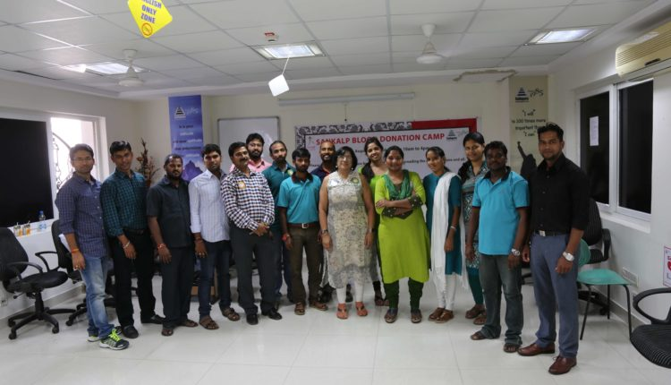 Sankalp – Jiva organizes 11th annual Blood Donation Drive at Sathguru