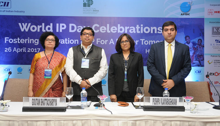 World IP Day event in Hyderabad organized by APTDC and CII.