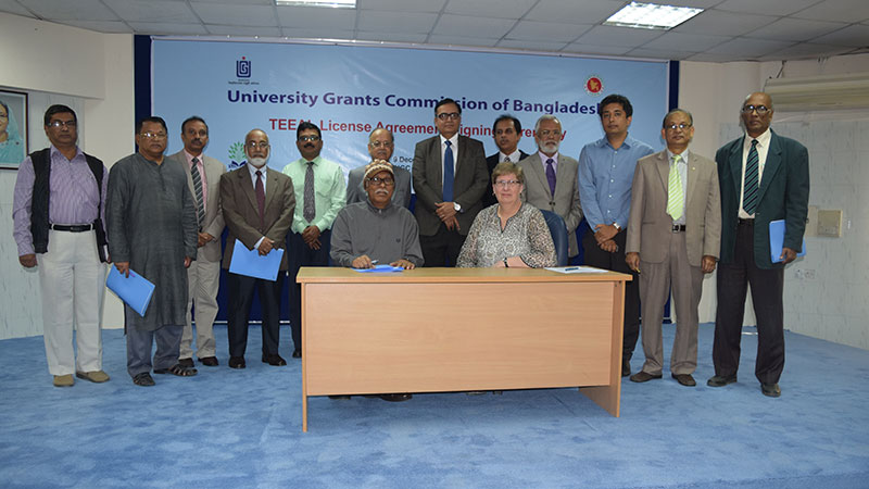 UGC of Bangladesh and TEEAL Collaborate to Enhance Agricultural Education in Bangladesh