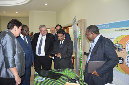 E-Extension Initiatives Launched In Malawi