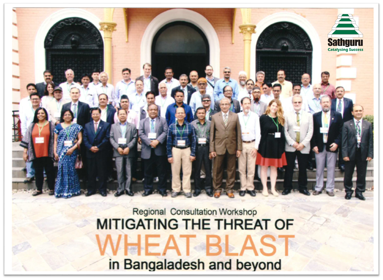Regional consultation meeting in response to the Wheat Blast epidemic in Bangladesh Kathmandu, Nepal