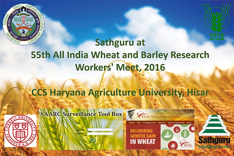 55th All India Wheat and Barley Research Workers' Meet, 2016