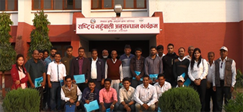 Small Seeds, Big Impact: The wheat season in Nepal kicked off with certified seed production training