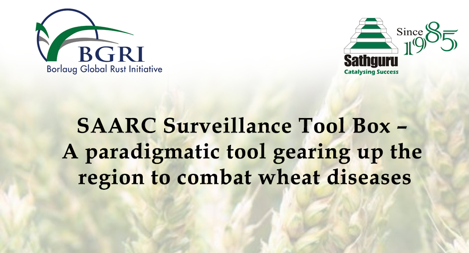 SAARC Surveillance Tool Box – A paradigmatic tool  gearing up the region to combat wheat diseases