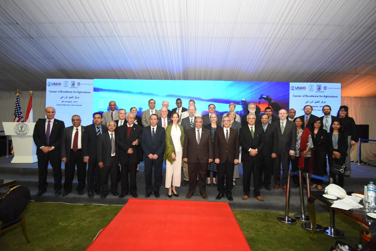 USAID Center of Excellence pairs Cornell, Cairo University