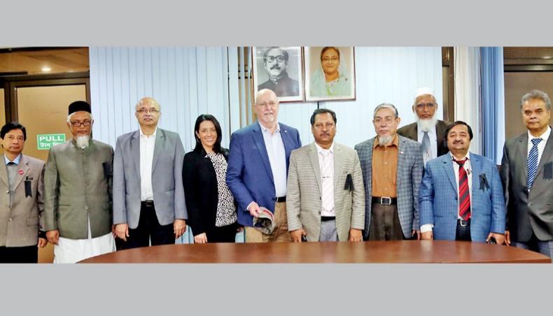 Feed the Future delegation visits BARI