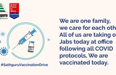 Sathguru Vaccination Drive Glimpse