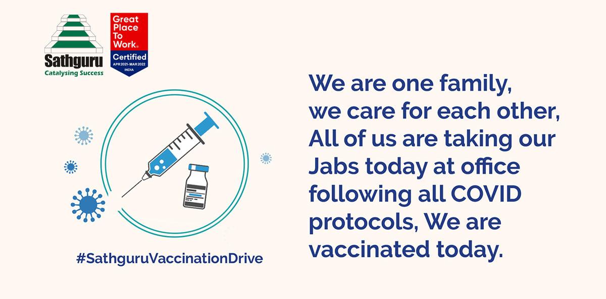 Sathguru Vaccination Drive