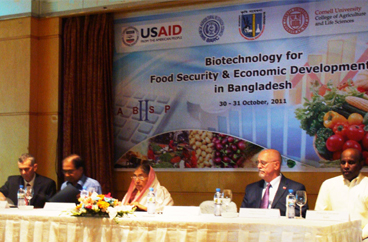 International Congregation on Biotechnology, Food Security and Economic Development in Bangladesh