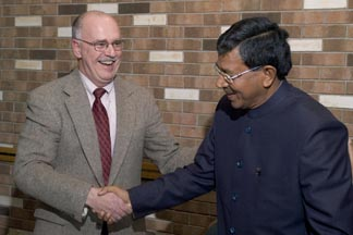 Cornell and India sign new agreement for agricultural development