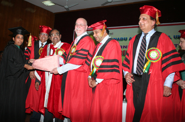 2nd batch of Master of Professional Studies (MPS)-M.Tech Programme Celebrates its Graduation Day at Tamil Nadu Agricultural University