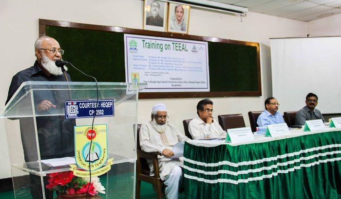 TEEAL to enhance access to agricultural research in BD