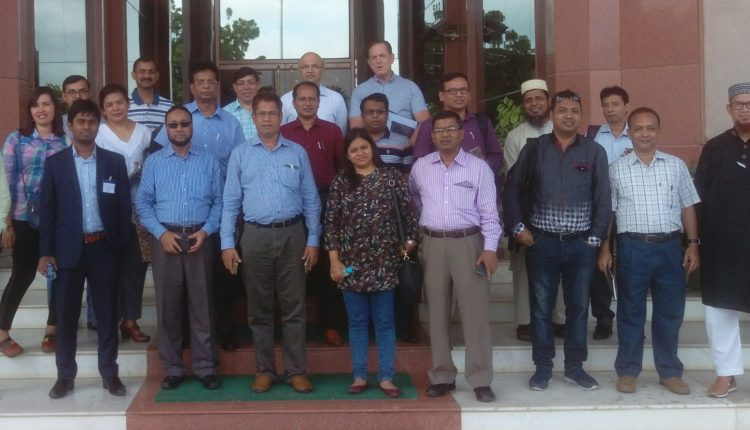 Biotech researchers from Bangladesh attend Stewardship training in India