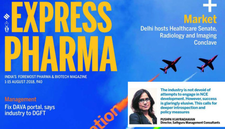Sathguru in Express Pharma – Cover Story