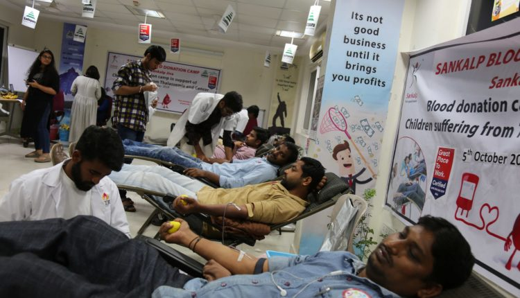 Blood donation drive sees good response