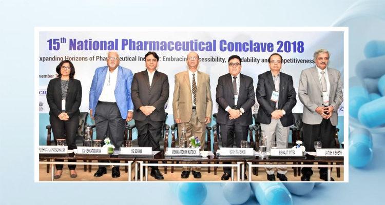 Sathguru's Healthcare Practice Lead moderates  API Panel at the CII National Pharma Conclave