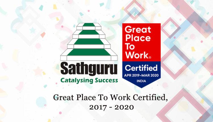 Sathguru_Great_place_to_work_2019