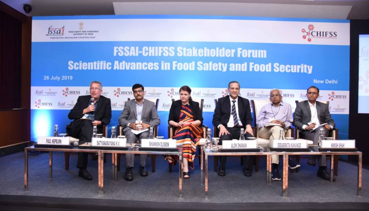 """CHIFSS in partnership with FSSAI organised  its 6th  Stakeholder Forum on """"Scientific Advances in Food Safety and Food Security"""""""