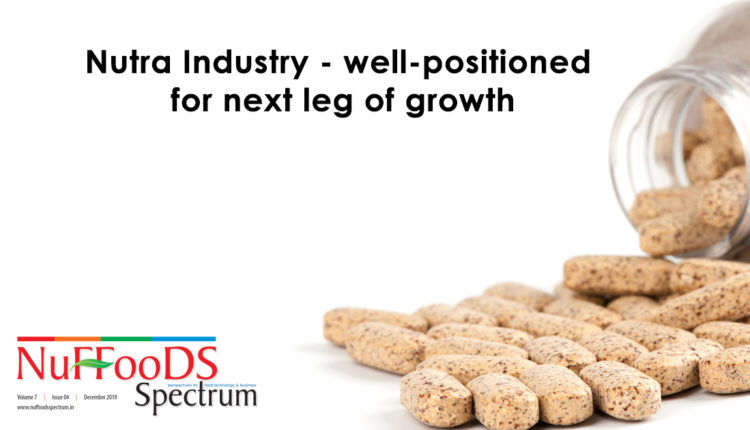 Nutra Industry – well-positioned  for next leg of growth