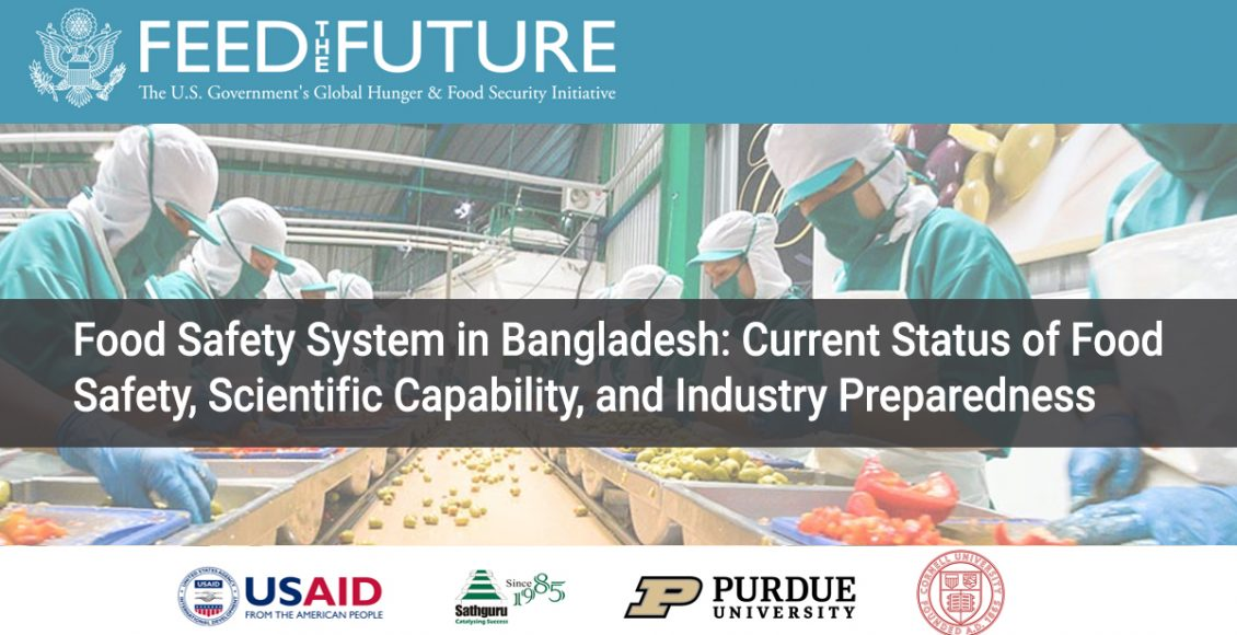 Food Safety System in Bangladesh: Current Status of Food  Safety, Scientific Capability, and Industry Preparedness
