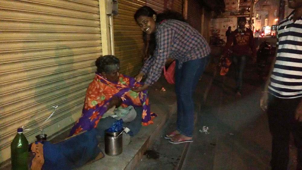 Sankalp Blanket Donation drive - 2015