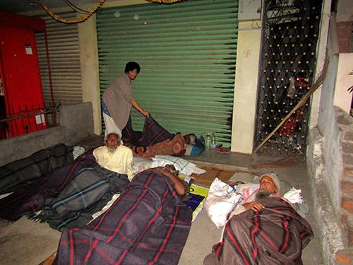 Sankalp vivrithi - Blanket Donation drive - 2016