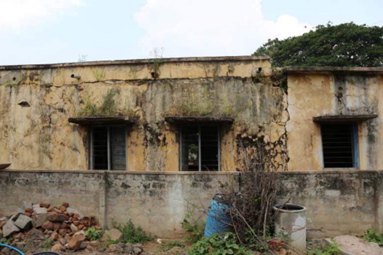 School construction project in Panyal Village, Hathnoora Mandal, Sangareddy-3