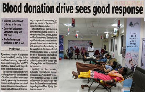 Sankalp Organises Blood Donation Camp -2018