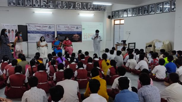 Sankalp-Siksha-Project PANTS-Awareness on prevention of Child Sexual Abuse at Dr. B. R. Ambedkar High School