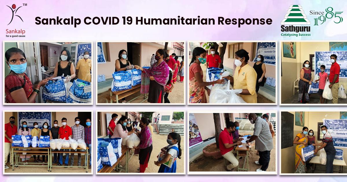 Sankalp COVID 19 humanitarian response