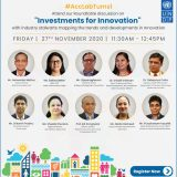 UNDP Roundtable on Investments for Innovation, 27 November 2020